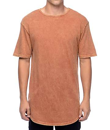 Ninth Hall High Rise Rust Wash T-Shirt