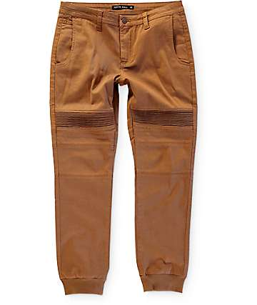 Ninth Hall Jude Moto Twill Jogger Pants