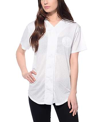 Ninth Hall Kemp White Mesh Jersey