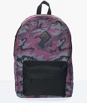 Ninth Hall Kylie Purple Camo Backpack