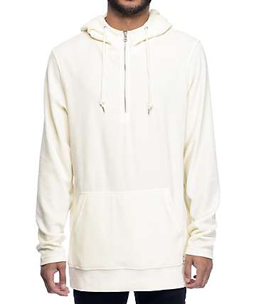 Ninth Hall Legend Cream Velour Hoodie