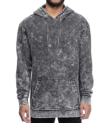 Ninth Hall Lower Lights Charcoal Wash Hoodie