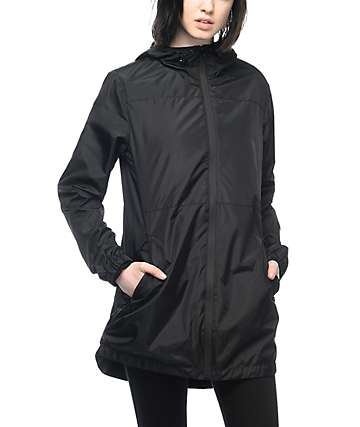 Ninth Hall Mila Black Windbreaker