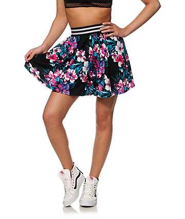 Ninth Hall Missy Floral Skater Skirt