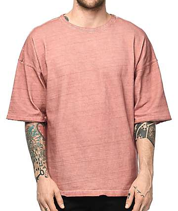 Ninth Hall Oversized Cameo Brown T-Shirt