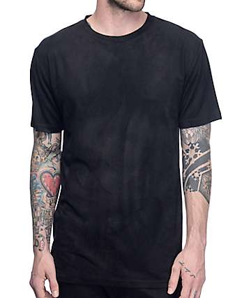 Ninth Hall Range Suede Black T-Shirt