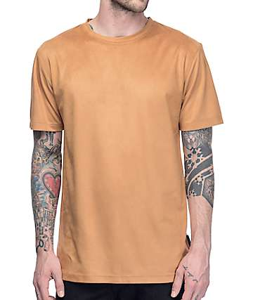Ninth Hall Range Suede Khaki T-Shirt