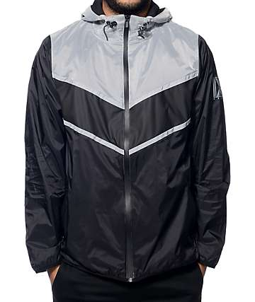 Ninth Hall Resource Black Nylon Windbreaker Jacket