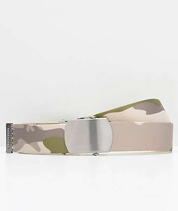 Ninth Hall Reversey Desert Camo Web Belt