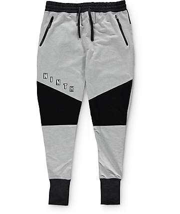 Ninth Hall Rivalry Terry and Mesh Jogger Pants