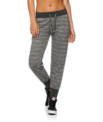 Ninth Hall Rockaway Grey Zip Bottom Jogger Pants