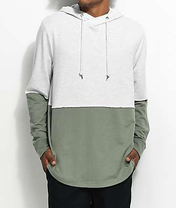 Ninth Hall Roots Green & Natural Hoodie