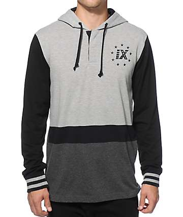 Ninth Hall Rugby Hooded Shirt