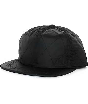 Ninth Hall Sasha Quilted Snapback Hat