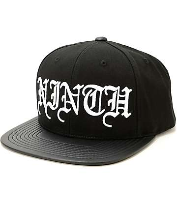 Ninth Hall Script Snapback Hat