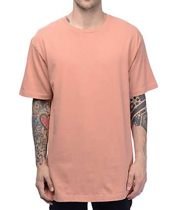 Ninth Hall Square Boxy Cameo Brown T-Shirt
