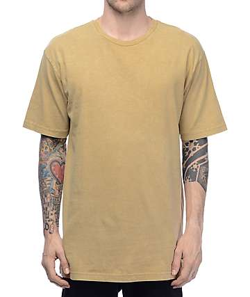Ninth Hall Square Boxy camiseta en color arena