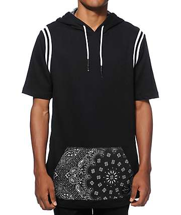 Ninth Hall Strange Days Bandana Short Sleeve Hoodie