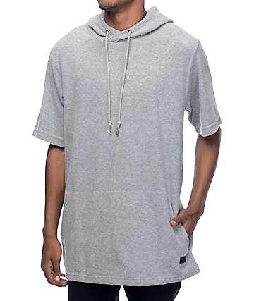 Ninth Hall Track camiseta gris con capucha