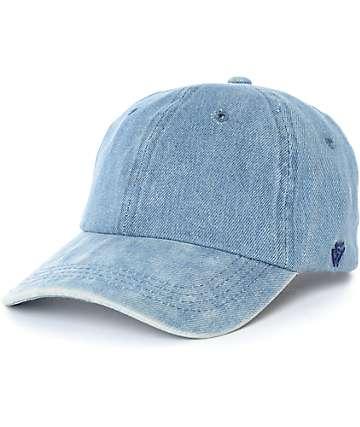 Ninth Hall Trifecta gorra béisbol de mezclilla