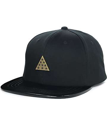Ninth Hall Trio gorra snapback en negro y color oro