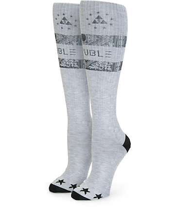 Ninth Hall Trouble Stripe Knee High Socks