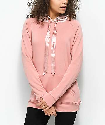 Ninth Hall Wiley Blush Hoodie