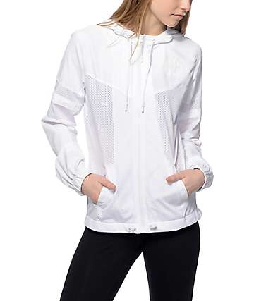Ninth Hall Willa White Mesh Jacket