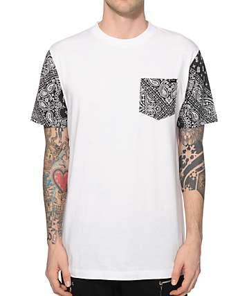 Ninth Hall Worldwide Bandana Pocket T-Shirt
