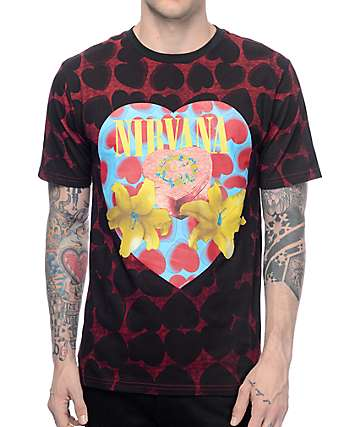Nirvana Heart Shaped Box T-Shirt