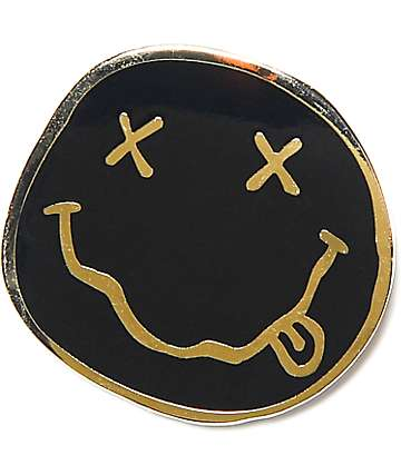 Nirvana Smile Pin