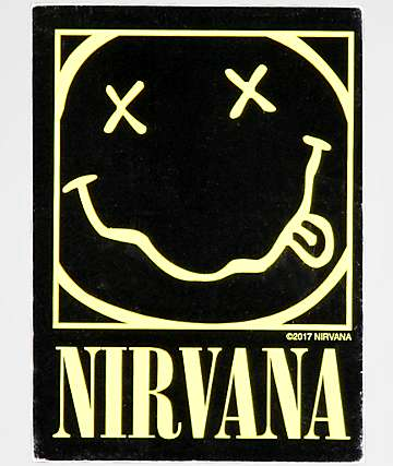 Nirvana Smiley Sticker