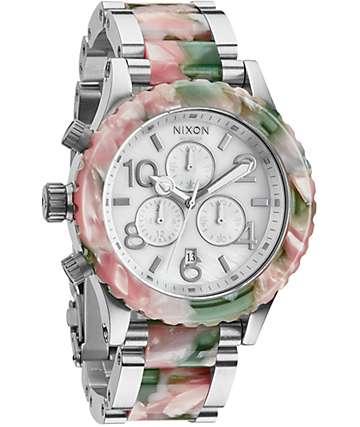 Nixon 42-20 Mint Julep Chronograph Watch