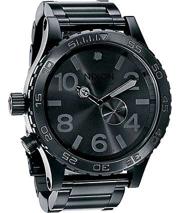 Nixon 51-30 Black Analog Watch