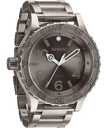 Nixon 51-30 TI Titanium Watch
