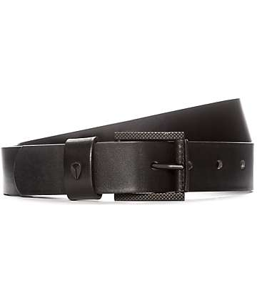 Nixon American Slim Black Belt