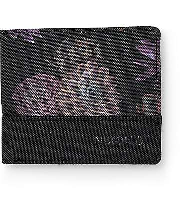 Nixon Atlas Black & Anthracite Bifold Wallet
