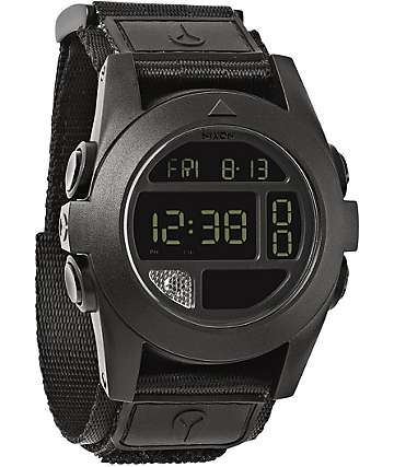 Nixon Baja All Black Compass Watch