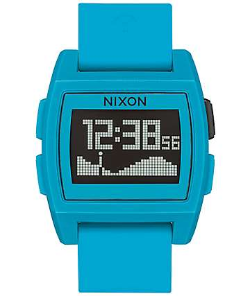 Nixon Base Tide reloj digital en azul