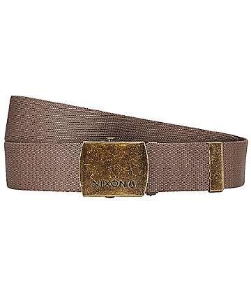 Nixon Basis Falcon cinturón tejido