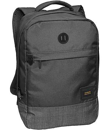 Nixon Beacons Black & Black Wash 18L Backpack