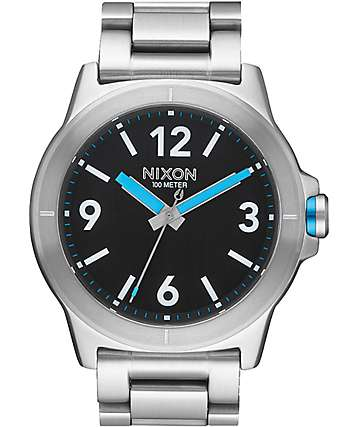 Nixon Cardiff Black & Blue Watch