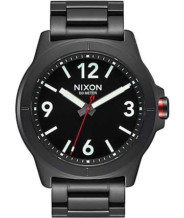Nixon Cardiff Black Watch