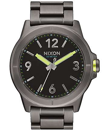 Nixon Cardiff Gunmetal Watch