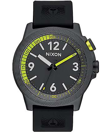Nixon Cardiff Sport All Gunmetal Analog Watch