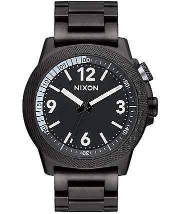 Nixon Cardiff Sport SS All Black Analog Watch