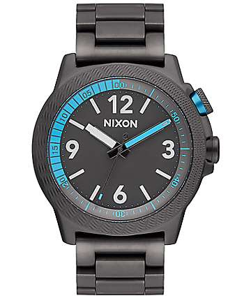 Nixon Cardiff Sport SS All Gunmetal Analog Watch