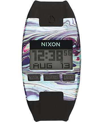 Nixon Comp Marbled Watch