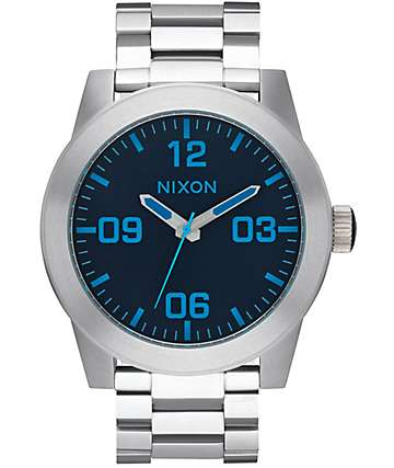 Nixon Corporal SS Dark Blue Watch