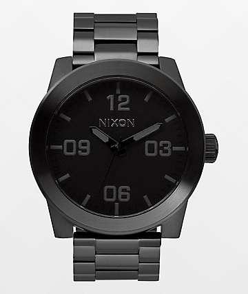 Nixon Corporal SS reloj negro